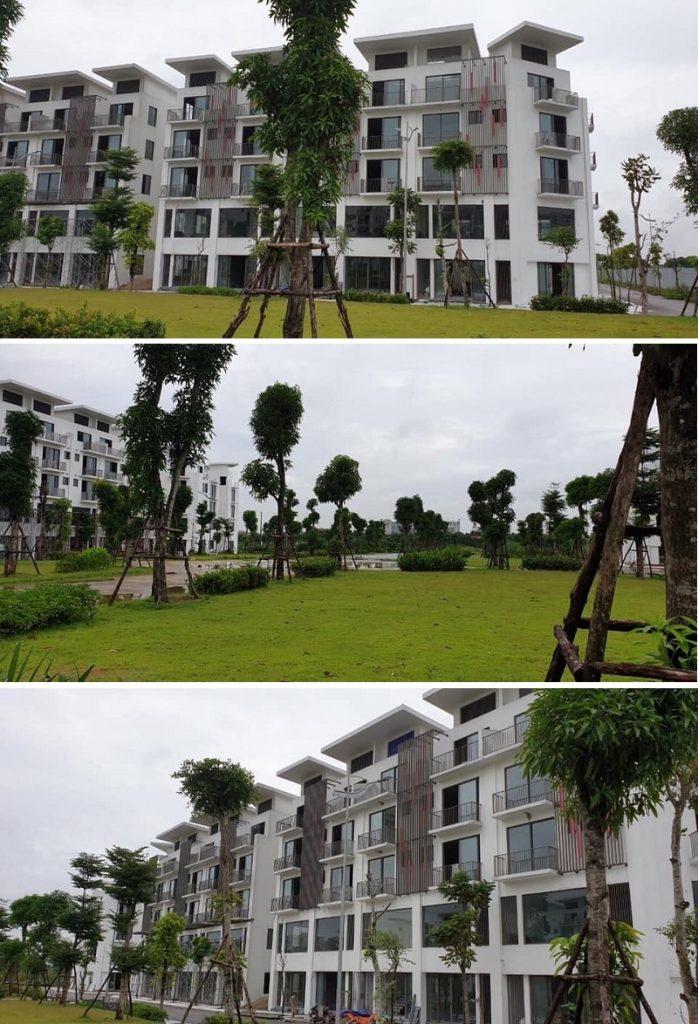 Tiến độ 1 dự án Khai Sơn City Long Biên 2020
