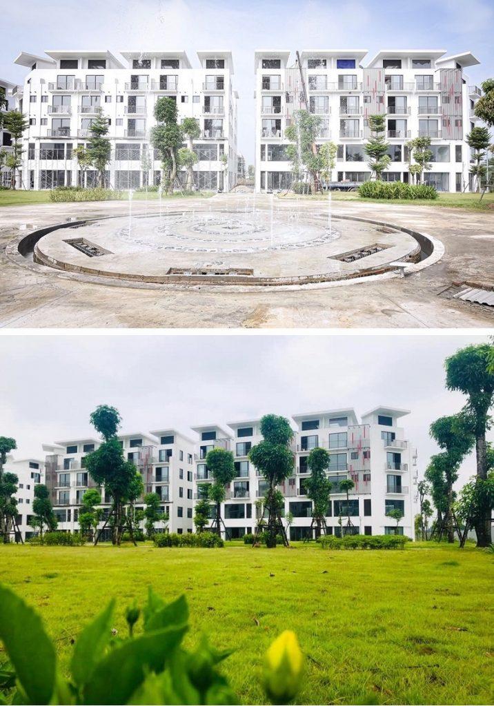 Tiến độ 2 dự án Khai Sơn City Long Biên 2020
