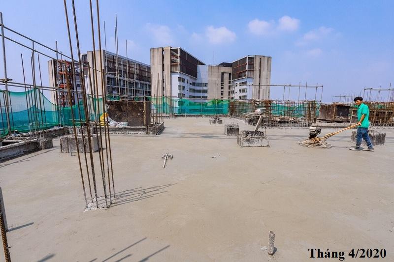 Tiến độ thi công chung cư An Bình Plaza 97 Trần Bình