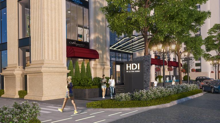 Tiện ích chung cư HDI Tower 55 Lê Đại Hành