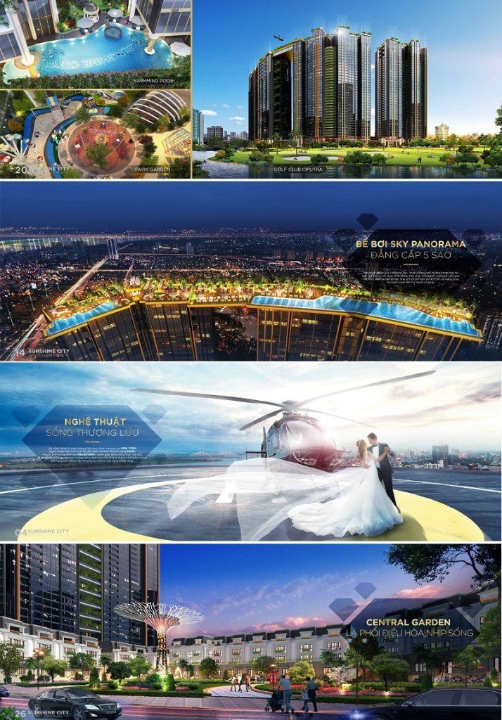Tiện ích dự án Sunshine City Tây Hồ 2