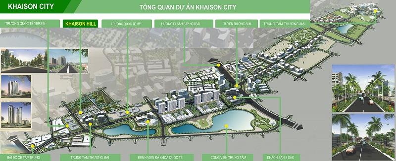 Tổng quan Khai Sơn City Long Biên