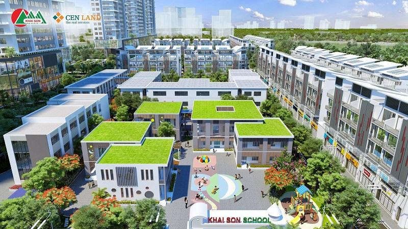 Trường mầm non Khai Sơn City Long Biên