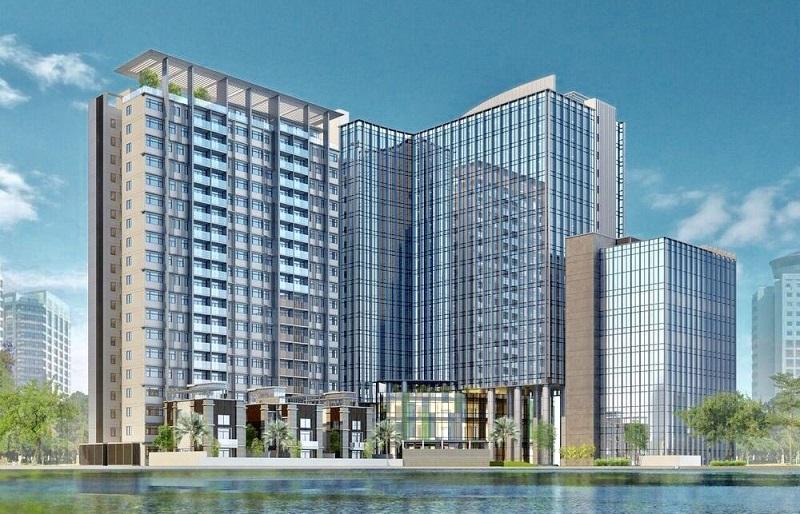 Phối cảnh chung cư BRG Grand Plaza 16 Láng Hạ
