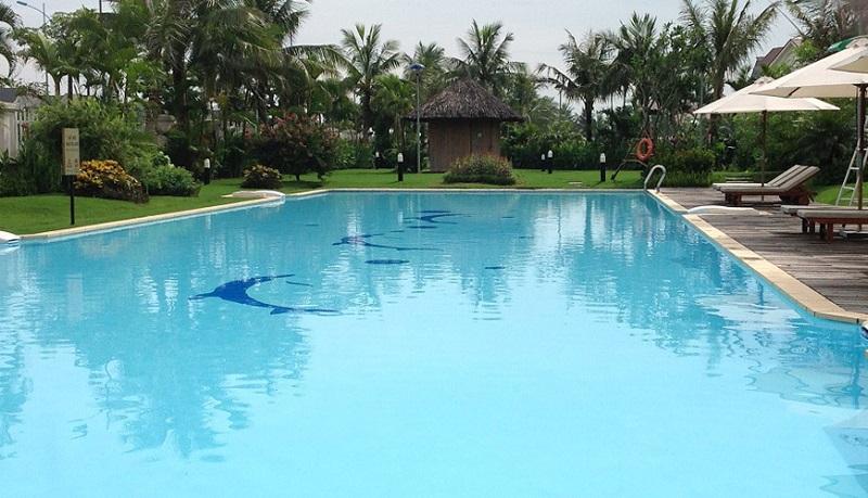 Bể bơi dự án An Lạc Green Symphony khu đô thị Vân Canh
