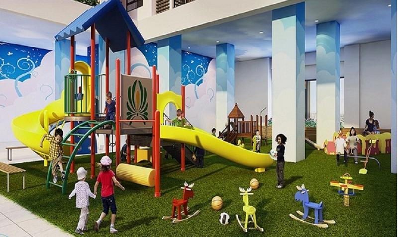 Khu vui chơi trẻ em chung cư DLC Complex Nguyễn Tuân