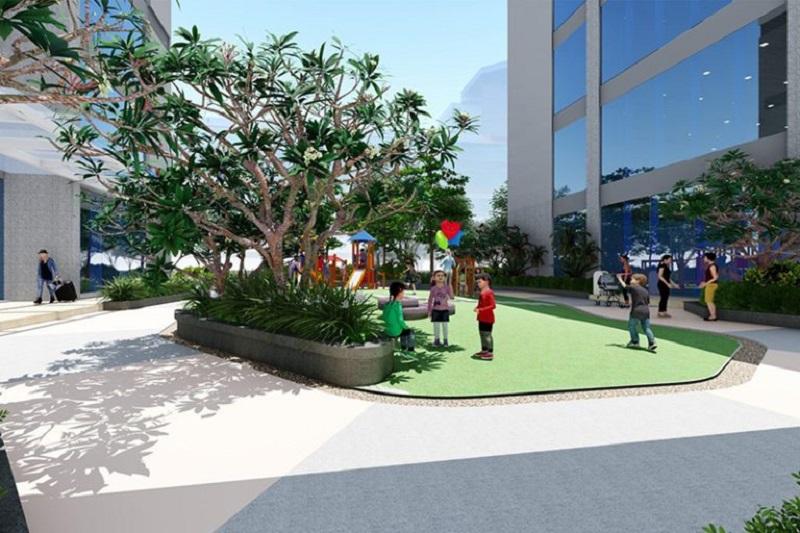 Khuôn viên dự án DLC Complex Nguyễn Tuân - Ngụy Như Kon Tum