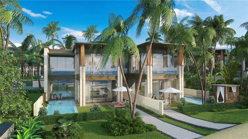 Mẫu biệt thự dự án 6 Miles Coast Resort Lăng Cô - Huế - 02