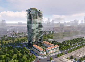 Phối cảnh 2 dự án chung cư Sunshine Golden River - Ciputra Tây Hồ