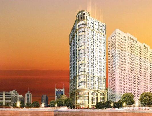 Phối cảnh dự án B7 Giảng Võ - Golden Lake Hòa Bình