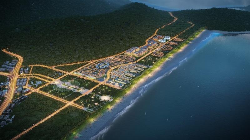 Phối cảnh đại dự án 6 Miles Coast Lăng Cô Resort