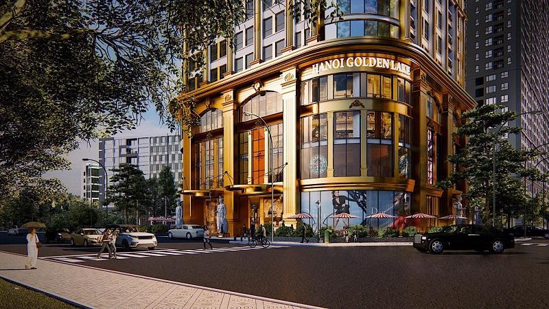 Phối cảnh 1 dự án căn hộ khách sạn Golden Lake B7 Giảng Võ