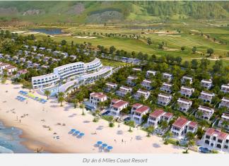 Phối cảnh tổng thể 6 Miles Coast Resort Lăng Cô - Huế
