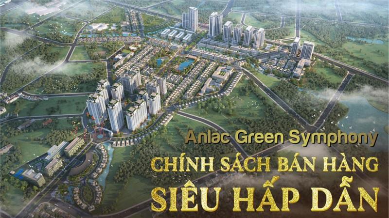 Phối cảnh tổng thể dự án An Lạc Green Symphony Vân Canh