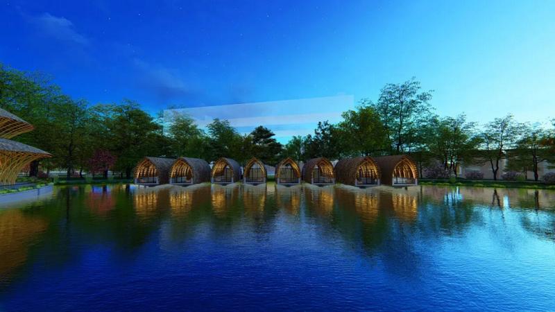 8 Bungalow dự án Vedana Cúc Phương Resort - Ninh Bình