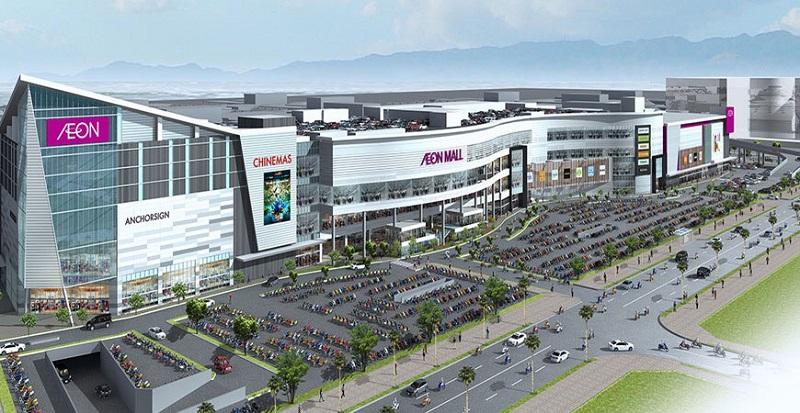 Aeon Mall cạnh The Terra An Hưng - Hà Đông