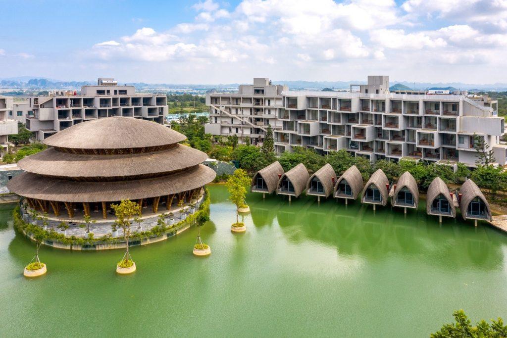 Ảnh thực tế 3 dự án Vedana Cúc Phương Resort Ninh Bình tháng 11/2020