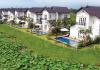Ảnh thực tế biệt thự Lily 2 tầng 4 phòng ngủ dự án Vườn Vua Resort Phú Thọ