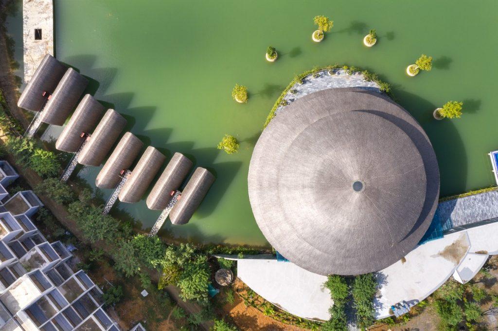Ảnh thực tế Bungalow dự án Vedana Cúc Phương Resort Ninh Bình tháng 11/2020