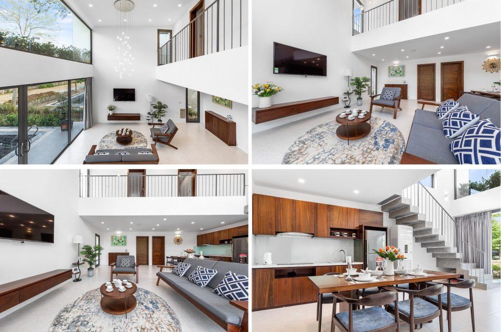 Ảnh thực tế nội thất biệt thự dự án Vedana Cúc Phương Resort Ninh Bình tháng 11/2020