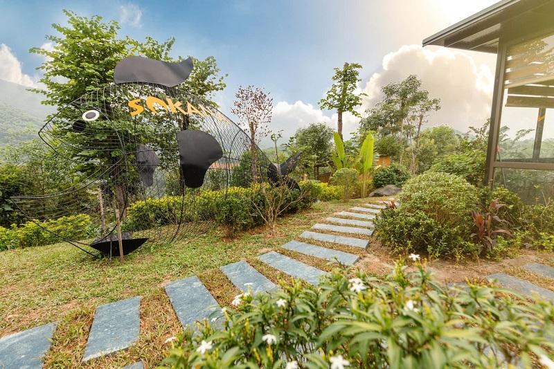 Ảnh thực tế 2 dự án Sakana Resort Hòa Bình tháng 12/2020