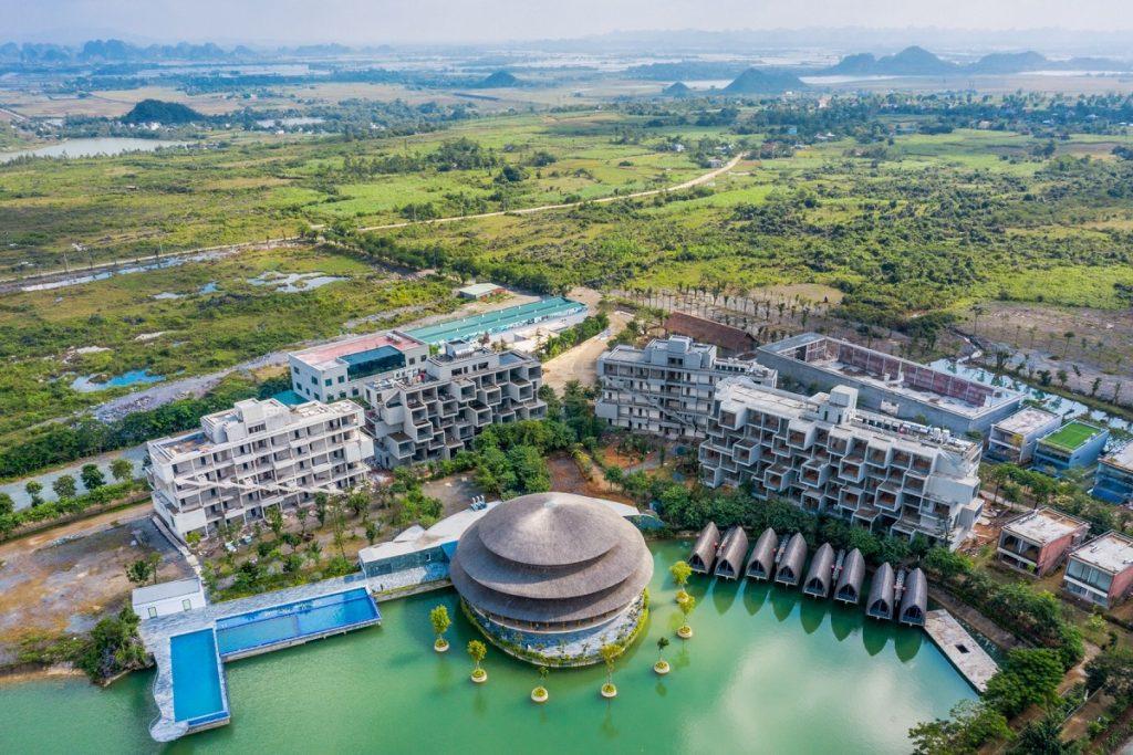 Ảnh thực tế dự án Vedana Cúc Phương Resort Ninh Bình tháng 11/2020
