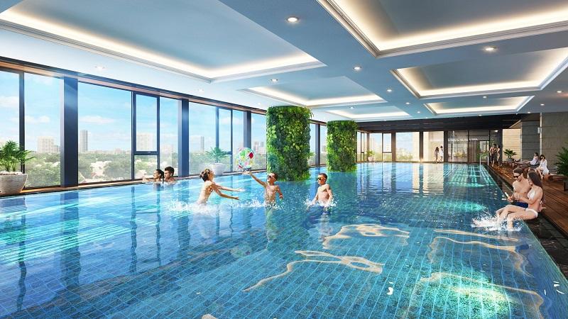 Bể bơi bốn mùa The Terra An Hưng Văn Phú - Hà Đông
