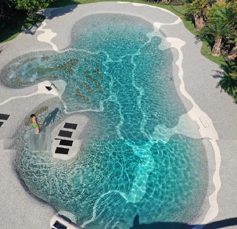 Bể bơi BioDesign dự án Biệt thự nghỉ dưỡng Sakana Resort Hòa Bình