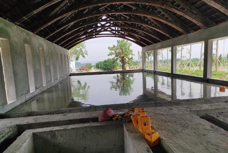 Bể bơi khoáng nóng dự án Vedana Resort Cúc Phương - Ninh Bình
