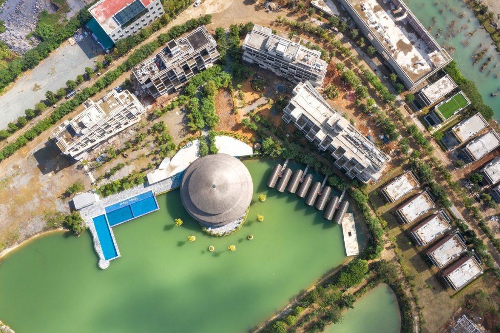 Flycam thực tế dự án Vedana Cúc Phương Resort Ninh Bình tháng 11/2020
