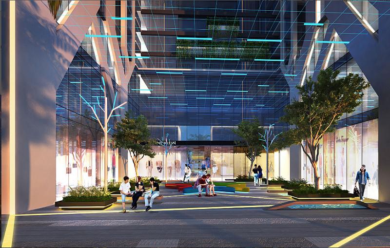 Không gian xanh dự án chung cư Five Star Residence Cầu Giấy