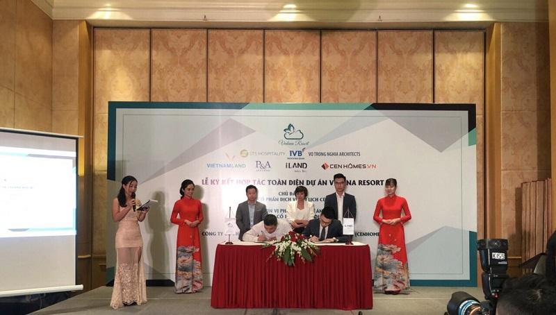 Lễ ký kết phân phối Vedana Cúc Phương Resort - Ninh Bình