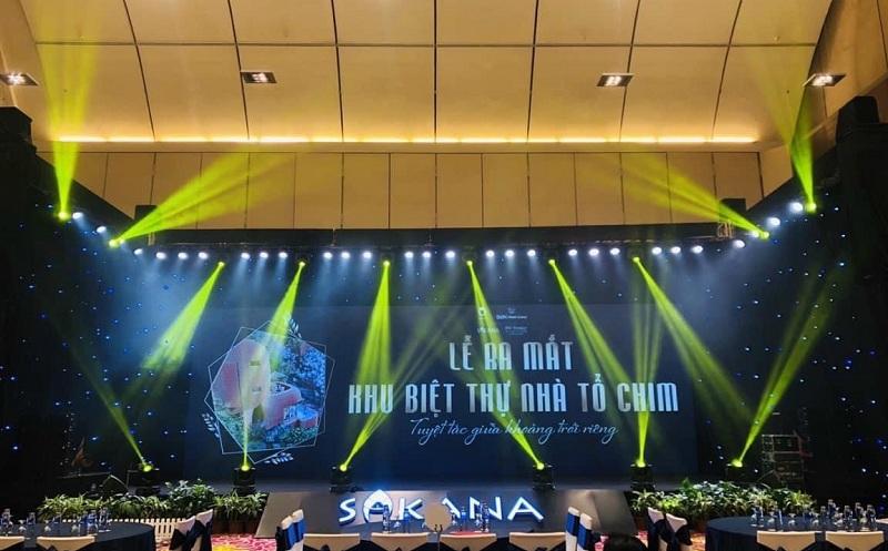 Lễ ra mắt biệt thự tổ chim dự án Sakana Resort Hòa Bình