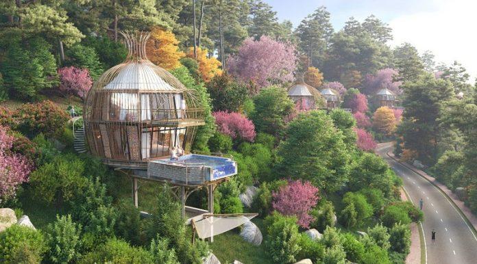 Mô hình 5 dự án Biệt thự nghỉ dưỡng Sakana Resort Hòa Bình