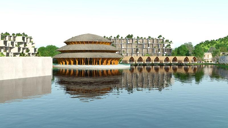 Nhà tre dự án Vedana Cúc Phương Resort - Ninh Bình