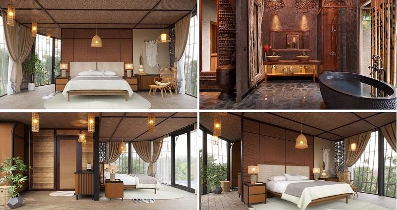 Nội thất 1 dự án Biệt thự nghỉ dưỡng Sakana Resort Hòa Bình