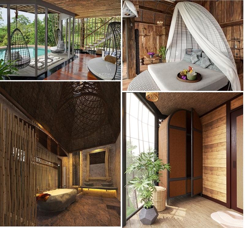 Nội thất 2 dự án Biệt thự nghỉ dưỡng Sakana Resort Hòa Bình