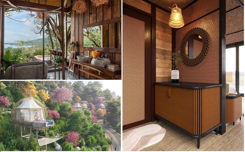 Nội thất 3 dự án Biệt thự nghỉ dưỡng Sakana Resort Hòa Bình