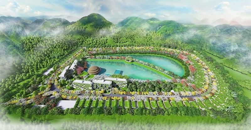 Phối cảnh 2 dự án Vedana Cúc Phương Resort - Ninh Bình
