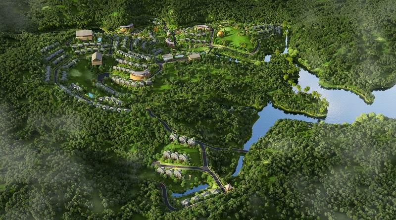 Phối cảnh 8 dự án Biệt thự nghỉ dưỡng Sakana Resort Hòa Bình