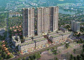Phối cảnh dự án The Terra An Hưng Văn Phú - Hà Đông