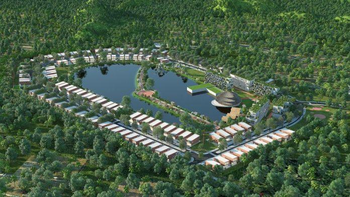Phối cảnh dự án Vedana Cúc Phương Resort - Ninh Bình
