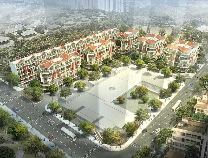 Thấp tầng dự án Royal Park 63 Nguyễn Huy Tưởng