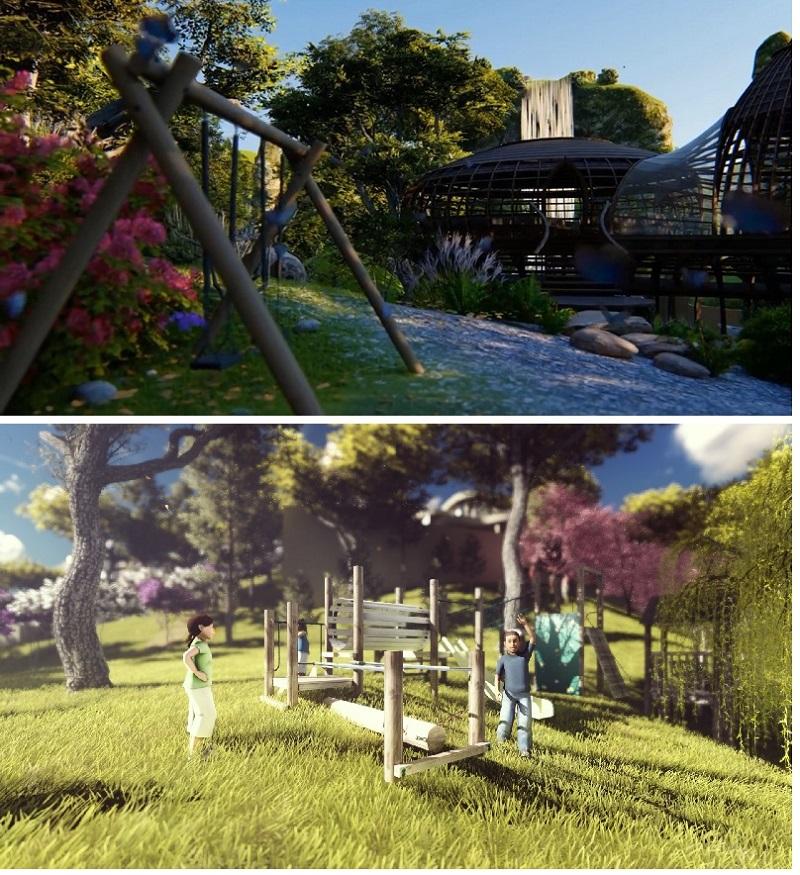 Tiện ích 2 dự án nghỉ dưỡng Sakana Resort Hòa Bình