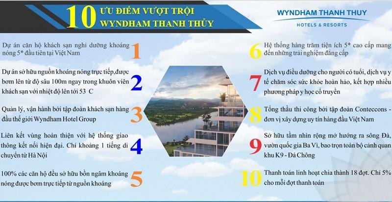 Có nên mua dự án Condotel Wyndham Thanh Thủy - Phú Thọ