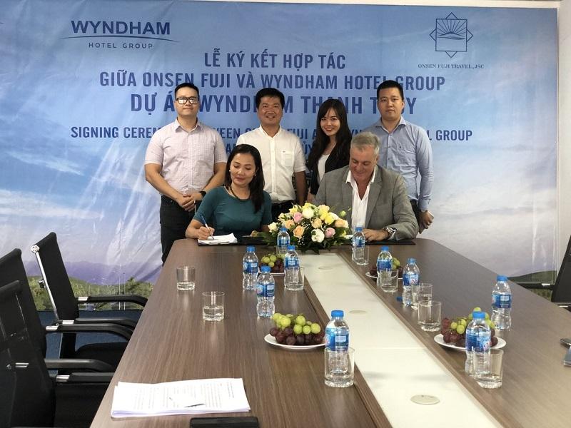 Lễ ký kết Wyndham Lynn Time Thanh Thủy - Phú Thọ