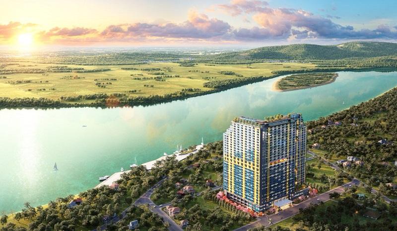 PHối cảnh 1 Dự án Condotel Wyndham Thanh Thủy - Phú Thọ