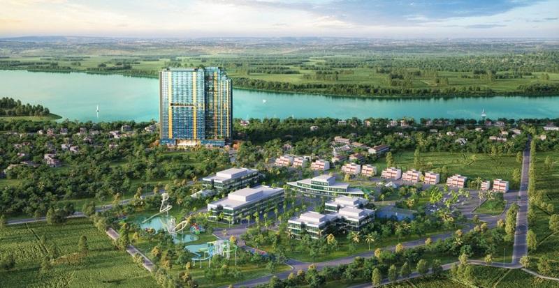 PHối cảnh 2 Dự án Condotel Wyndham Thanh Thủy - Phú Thọ