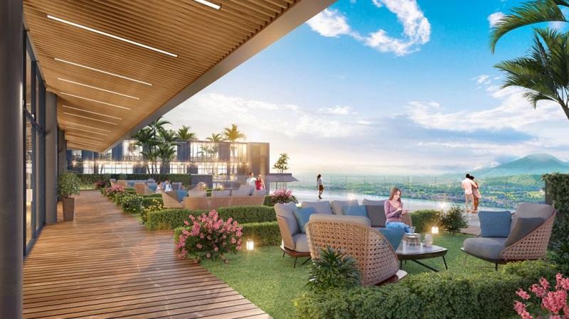 Skybar Dự án Condotel Wyndham Thanh Thủy - Phú Thọ