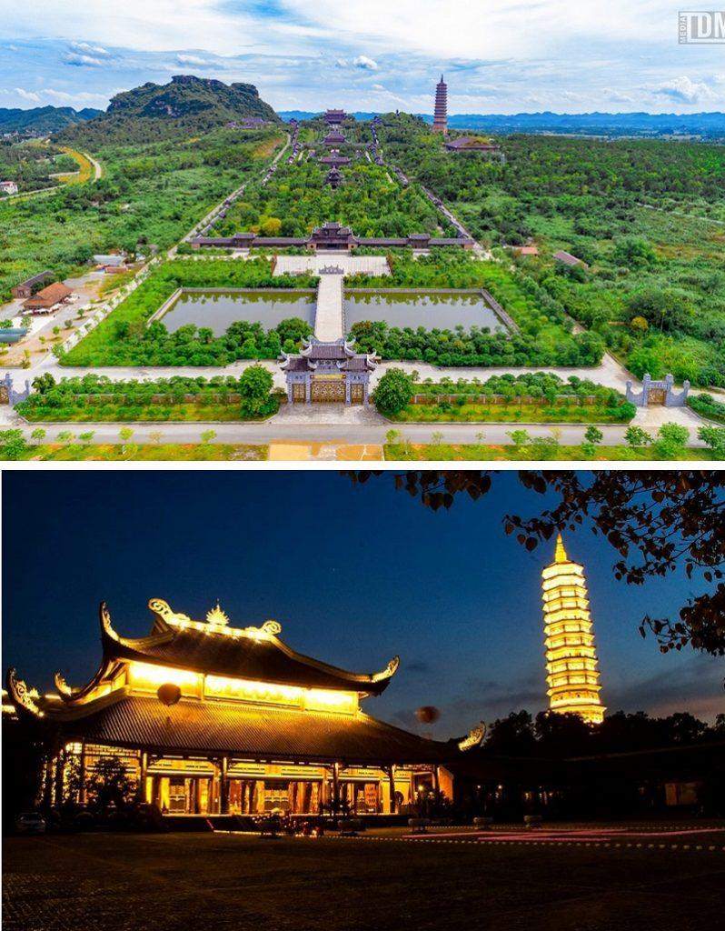 Chùa Bái Đính Ninh Bình (Life Resort Ninh Hải)